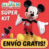 Kit Imprimible Mickey De La Casa De Mickey Mouse Y Mas