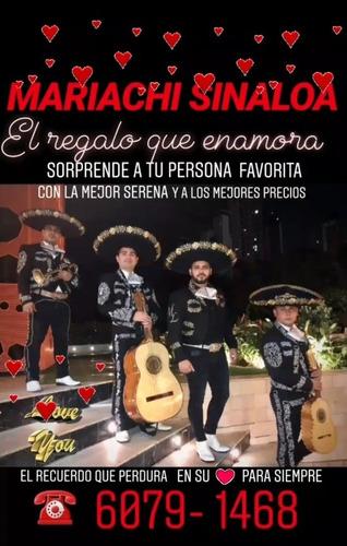 Mariachi Sinaloa. Telf 6079 1468