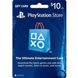 Tarjeta Playstation Store $10 (código Digital)