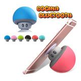 Bocina Mini Honguito Sonido Bluetooth 360grado