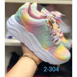 Zapatillas Para Niñas Platform