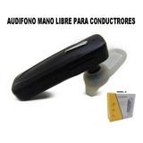 Audifono Mano Libre Bleutooth Ideal Conductores
