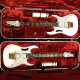 Ibanez Jem7v Steve Vai White Electric Guitar