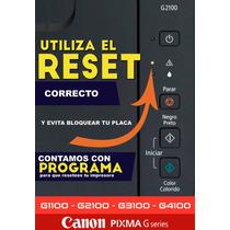 Reset Canon Ilimitado 1 Pc Varios Modelos Error 5b00 5b02