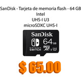 Micro Sd Sandisk Hd, Fullhd, 4k. Nintendo Switch  16 Gb 32 G