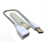 Lampara Flexible 8 Led Usb Laptop Pc