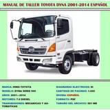 Manual De Taller Reparación Dyna Hino 500 2001-14 Español