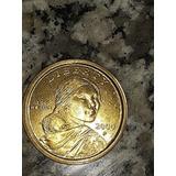 Moneda De 1$ Dorada Añ0 2000 P