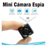 Mini Camara Espia. 1080p Hd Vision  Nocturna Tamaño Discreto
