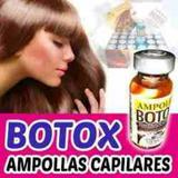 Ampollas Capilar  Botox Ambarinas (caja De 24 Unidades)