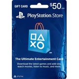 Tarjeta Playstation Store $50 (código Digital)