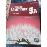 Libro De Grammar De 11vo Grado  Focus On Grammar 5a  Pearson