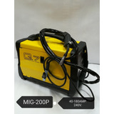 Máquina De Soldar Mig-200p, Hacemos Envíos