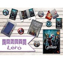 Kit Imprimible Avengers Los Vengadores Candy Bar Deco Mesa