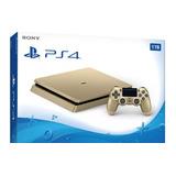 Playstation 4 Edicion Especial Dorado, Gold 1tb