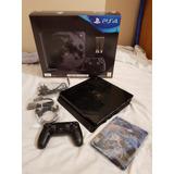 Playstation 4 Slim 1tb Fantasy Xv Edición Limitada
