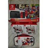 Nintendo Switch Mario Odyssey Paquete Nueva!