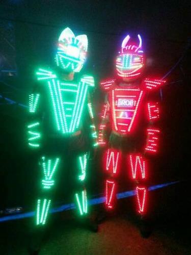 Show Led Robot Para Tu Eventos Los Mejores Show De Panama