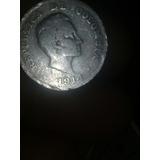 Una Moneda Antigua De 1914