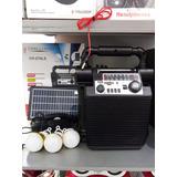 Bocina Ch 270ls Con Panel Solar Bluetooth  12 X 35 C/u