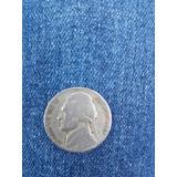 Moneda Coleccionable De 5 Cetesimos Americano Año 1942