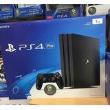 Playstation 4 Pro A 465 Netos  Y Con Juegos A 385 Netos