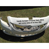 Toyota Yaris  Yaris  Vendo Bomper