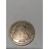 Moneda Antigua De Un Balboa Americano De 1846