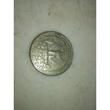 Moneda De 25 Cent Año 1989