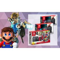 Nintendo Siwtch 32 Gb Nuevo Sellado 2 Juegos Y Regalos