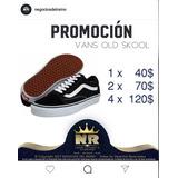 Promocion Zapatillas Vans