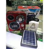 Reproductor Ch 178uls Panel Solar Radio Usb  Mayor Y Detal