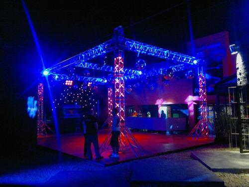 Alquiler De Equipos Para Eventos Luces ,sonido Y Estructuras