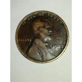 Un Centavo De Dolar Americano Del Año 1935
