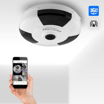 Cámara Provisión 360 Para Interiores Ip - Wifi (inalámbrica)
