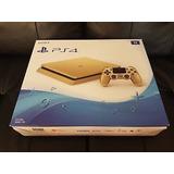 Sony Playstation 4 Slim [edición Limitada] [consola De Oro