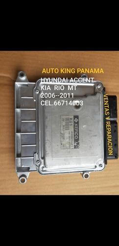 Computadora Hyundai Accent Manual K01 Y A01 2006-2011
