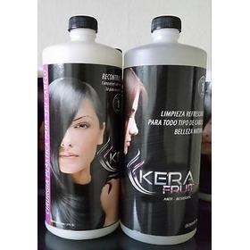Cirugía Capilar Kera Fruit De 1litro Kit 2 Pasos Original!!!