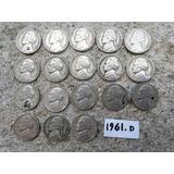 Moneda De 5 Centavo Año 1961 D  Con Error