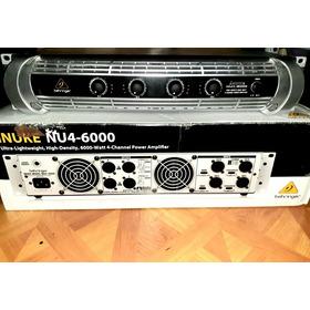 Amplifiador Behringer Inuke4 6000w