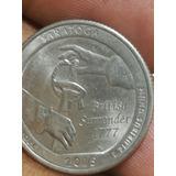 Moneda De 25 Cent Saragota Con Error Año 2016
