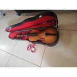 Cuatro Y Violin Con Estuche