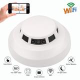 Detector De Humo Espía Con Wifi Y Visión Nocturna | Full Hd
