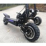 Waterproof 1600w/48v Two Wheel 10in Folding Off Road