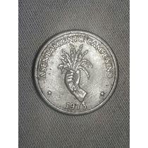 Moneda De 2 1/2  Centesimo De 1973 De Panama