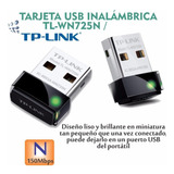 Adaptador Usb Wifi Mini Tp-link Tl-wn725n 150mbp 19 01 1126