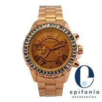 Reloj Michael Kors Con Brillantes Mayor Y Detal