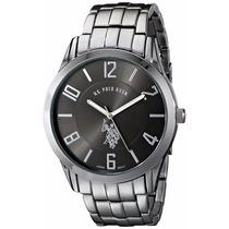 Elegante Reloj Polo Plateado Con Negro. Variedad De Modelos
