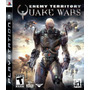 Enemy Territory: Quake Wars. Ps3. Nuevo Y Sellado